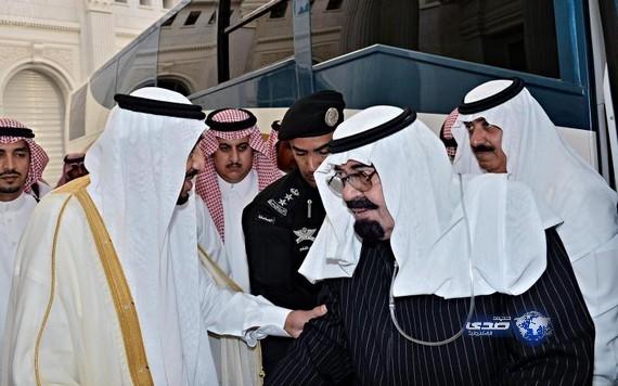 صور الملك عبدالله في روضة خريم السبت 5/4/2014