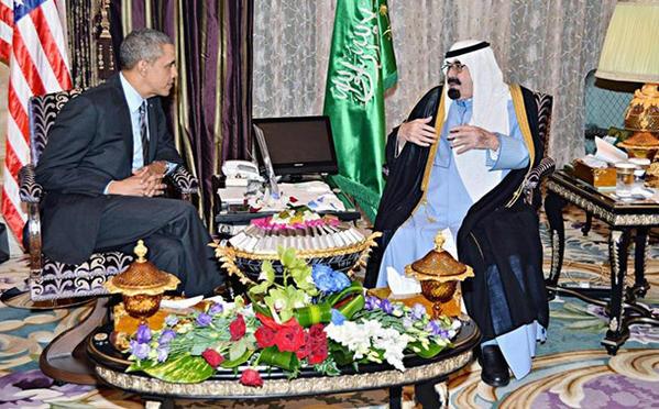 أوباما يسعى لإقناع السعودية بضرب الاقتصاد الروسي 2014
