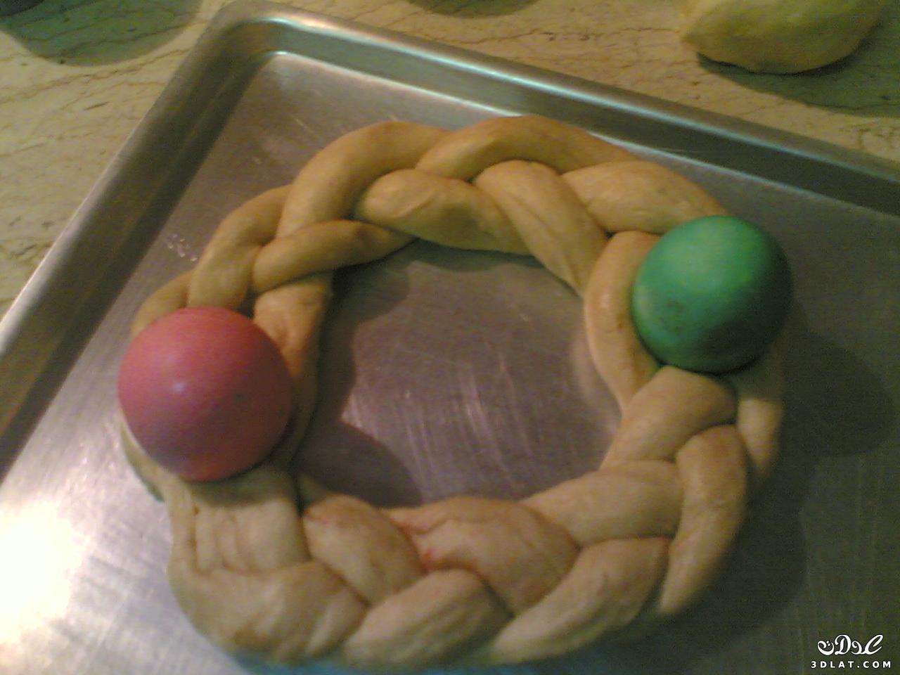 طريقة عمل البريوش كعكة الربيع , خطوة بخطوة طريقة تحضير البريوش