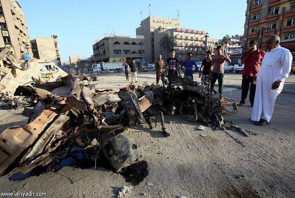 أخبار العراق اليوم الثلاثاء 8-4-2014 , مقتل وإصابة 13 عراقيا في تفجير انتحاري بسامراء