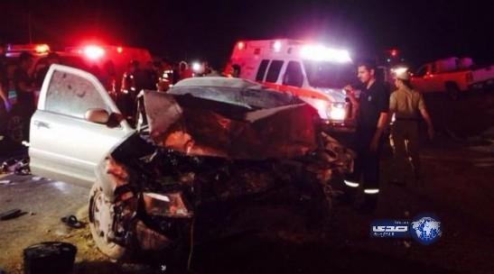 أخبار مدينية الرياض الثلاثاء 8 ابريل وفاة 3 وإصابة اثنين في حادث تصادم على طريق الرياض