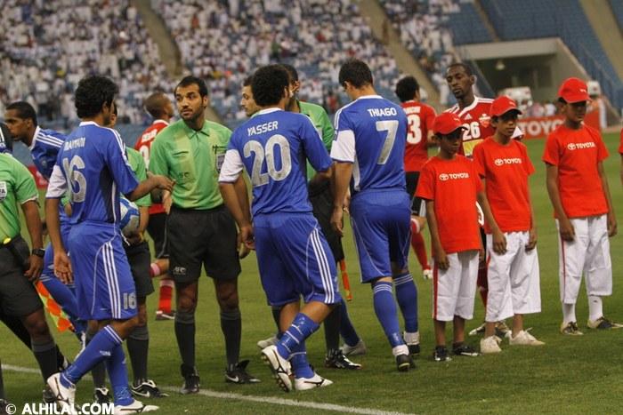 القنوات المجانية التي تذيع مباراة الهلال والأهلي الاماراتي في دوري ابطال اسيا 15-4-2014