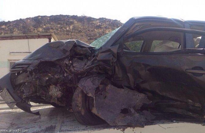 أخبار السعودية اليوم الخميس 17-4-2014 , وفاة وافد في حادث تصادم وجه لوجه بالباحة