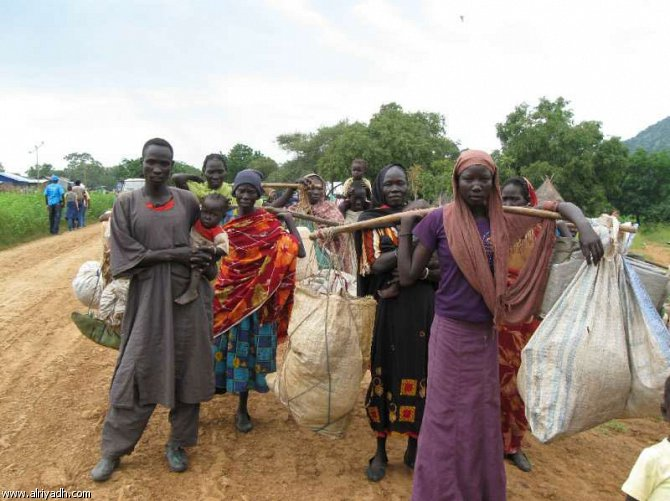 أخبار السودان اليوم الخميس 17-4-2014 , ألف سوداني جنوبي يصلون كل يوم إلى اثيوبيا
