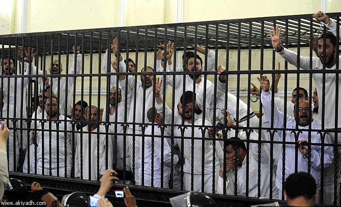 أخبار مصر اليوم الخميس 17-4-2014 , سجن 119 من أنصار الرئيس المعزول مرسي