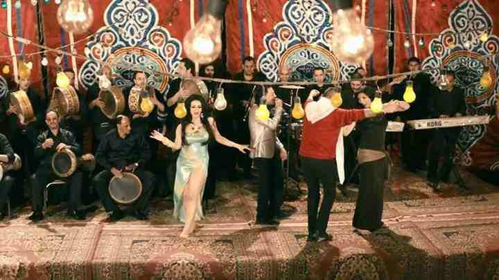 صور رقص شيما الحاج في سالم ابو اخته 2014