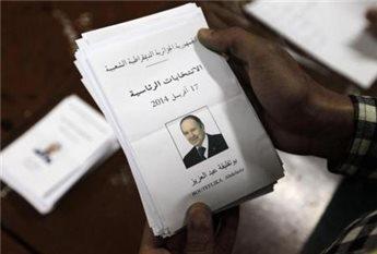 نتائج الانتخابات في الجزائر اليوم الجمعة 18-4-2014 , بوتفليقة يفوز بالانتخابات الرئاسية في الجزائر