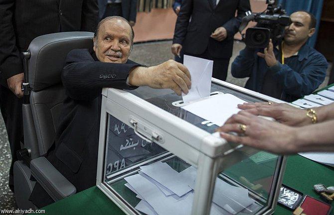 أخبار الجزائر اليوم الأحد 20-4-2014 , الرئيس الجزائري بوتفليقة يفوز بفترة ولاية رابعة
