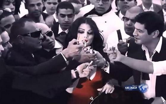 حقيقة حمل الفنانة هيفاء وهبي من طفل في فيلم حلاوة روح 2014