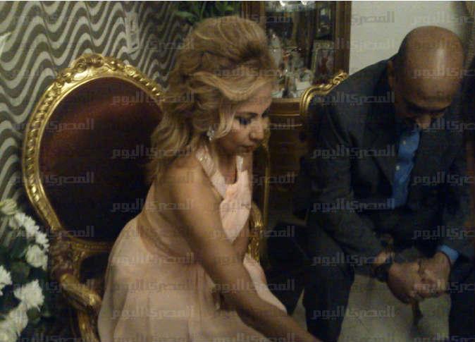 صور زوجة الفنان محمد منير داليا محمد يوسف