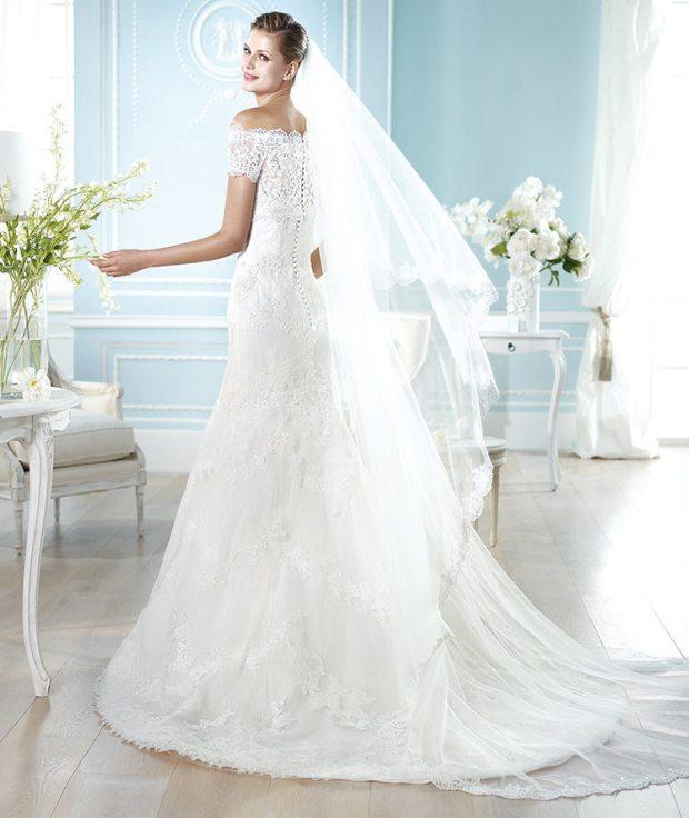 تصميمات فستان الزفاف, صور فساتين زفاف اوروبية 2018 , صور فساتين افراح ماركات عالمية 2018