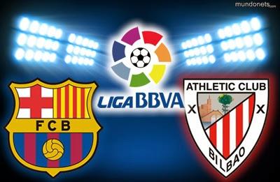 يوتيوب أهداف مباراة برشلونة و اتلتيك بلباو الاحد 20-6-1435