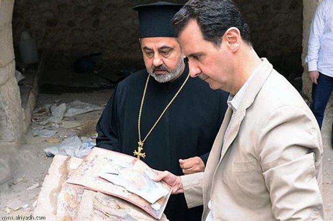 أخبار سوريا اليوم الاثنين 21-4-2014 , الأسد يزور معلولا بعد استعادة قوات النظام السيطرة عليها