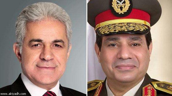 أخبار مصر اليوم الاثنين 21-4-2014 , السيسي و صباحي المرشحين لرئاسة جمهورية مصر