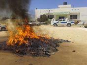 اخر اخبار ليبيا اليوم الاثنين 21 ابريل 2014 , أهالي واسر ضحايا حادثة غرغور