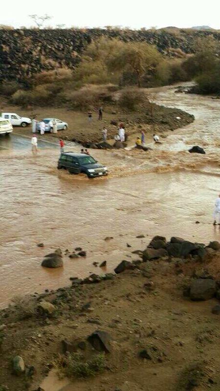 صور امطار وسيول حرة الشرع بمكة اليوم الخميس 24-6-1435