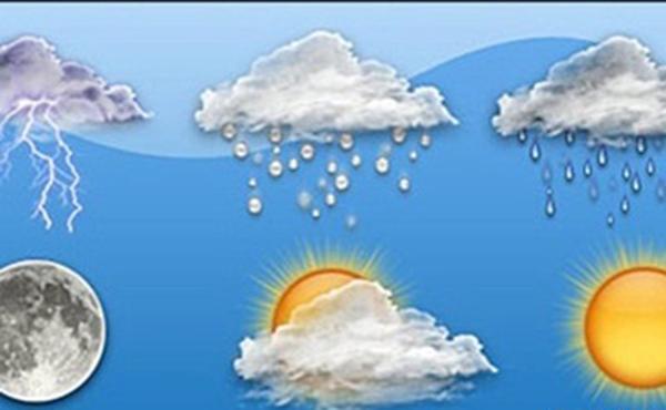 حالة الطقس المتوقعة فى المدينة
