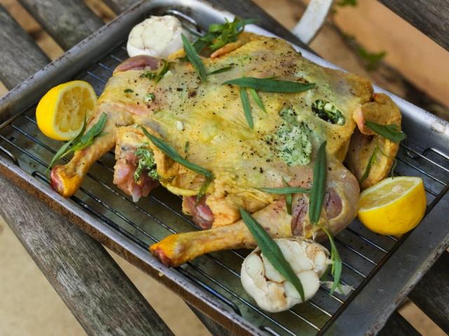 تحضير صينية دجاج بالزنجبيل بالفرن , بالصور اطباق دجاج بالفرن