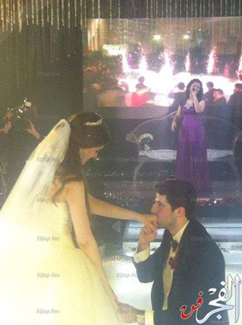 صور حفل زفاف الفنان طارق الابيارى اليوم 2014