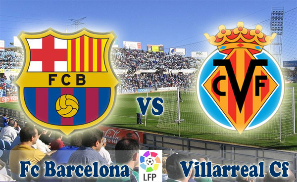 القنوات المجانية التي تذيع مباراة برشلونة و فياريال الاحد 27.4.2014