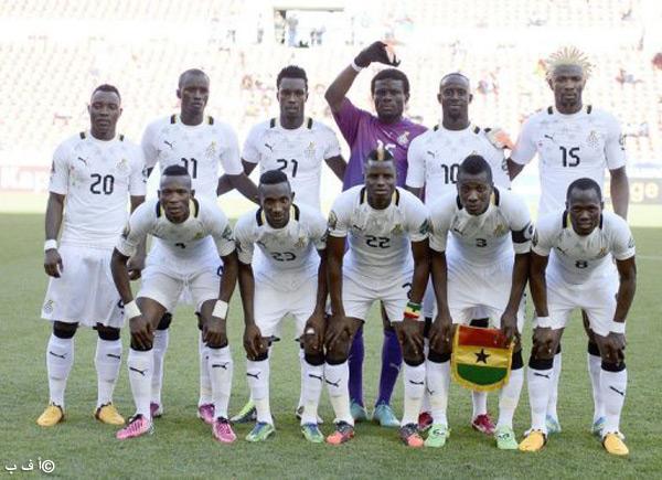 صور منتخب غانا في كأس العالم في البرازيل 2014