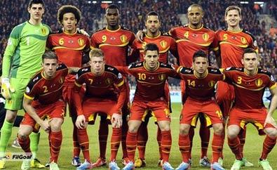 صور منتخب بلجيكا في كأس العالم في البرازيل 2014
