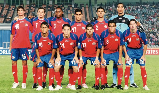 صور منتخب كوستريكا في كأس العالم في البرازيل 2014
