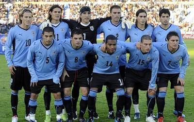 صور منتخب أوروجواي في كأس العالم في البرازيل 2014