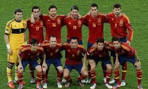 صور منتخب اسبانيا في كأس العالم في البرازيل 2014