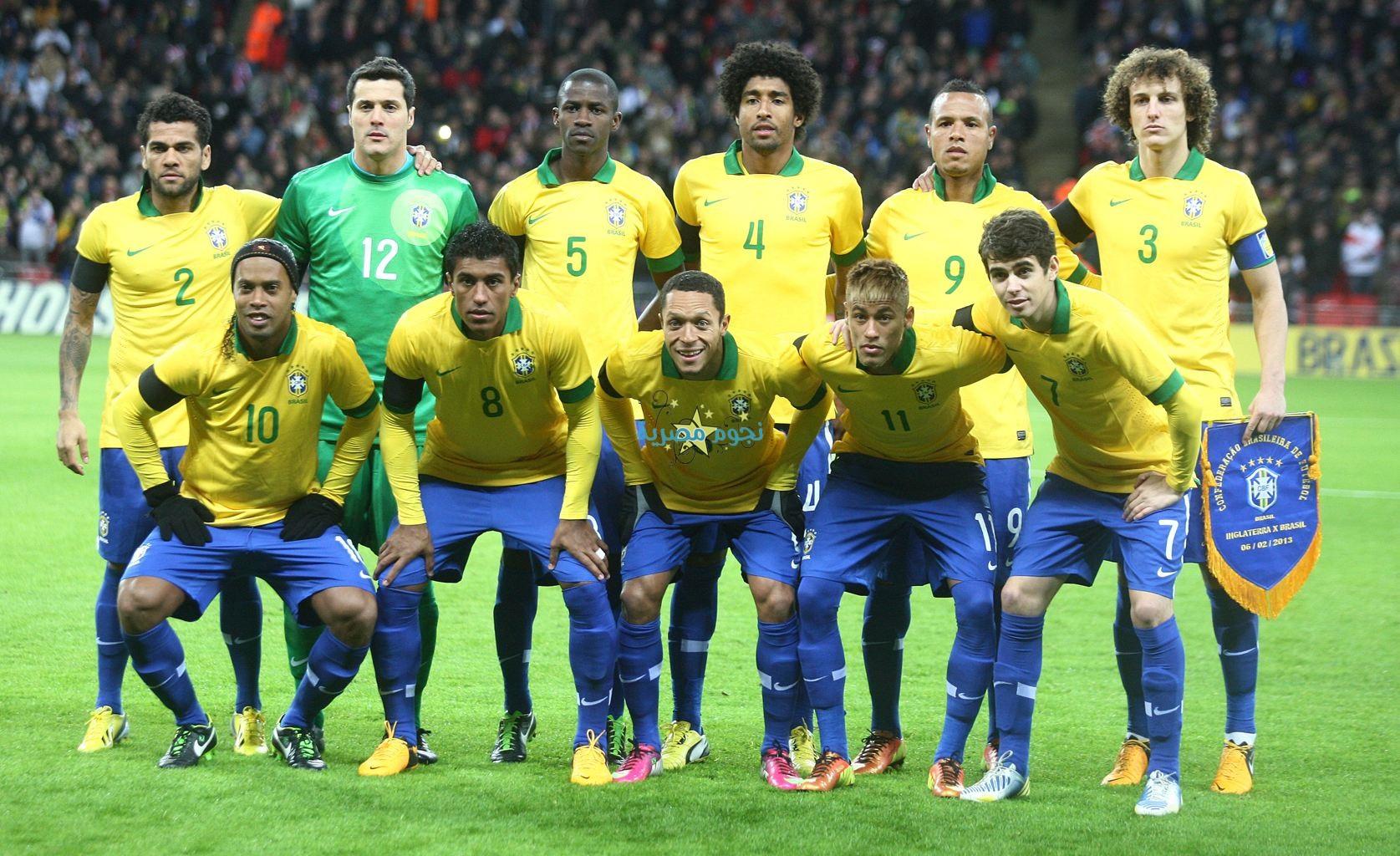 صور منتخب البرازيل في كأس العالم في البرازيل 2014
