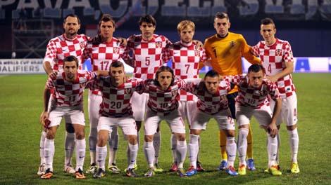 صور منتخب كرواتيا في كأس العالم في البرازيل 2014