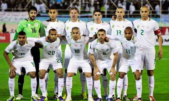 صور منتخب الجزائر في كأس العالم في البرازيل 2014
