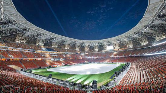 صور استاد ملعب الملك عبد الله بجدة ملعب الجوهرة , أحدث ملاعب الوطن العربى بتكلفة 380 مليون يورو