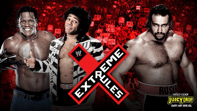 ترددات feeds للمشاهدة مهرجان Extreme Rules للمصارعة 2014