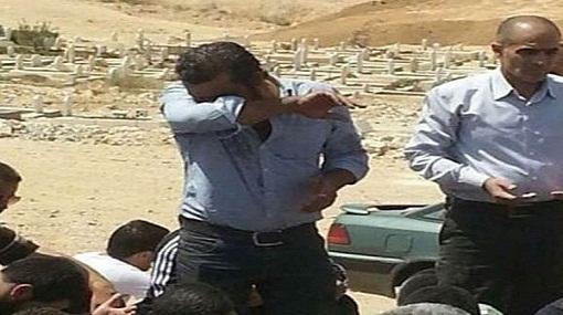 انهيار منذر رياحنة بعد وفاة الفنان السوري محمود السوالقة بين يديه أثناء التصوير
