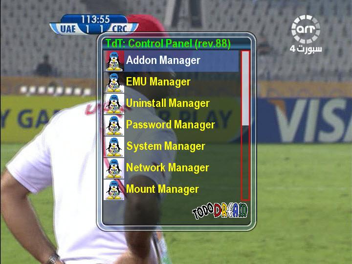 صورة TDOD البرتغالية و ايمو CCcam 2.1.2 مدموج