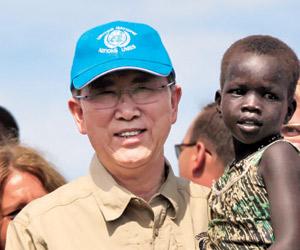 أخبار السودان اليوم الخميس 8-5-2014 , مون يصل جوبا للتوسط في وقف العنف