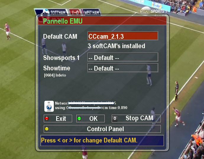 صورة CCcam2.1.3 Sifteam1.9.4C و SPCS 2.5.16 بصورة واحدة
