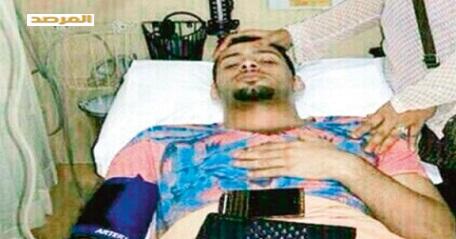 صور حادث اللاعب مصطفى بصاص في جاكرتا 1435
