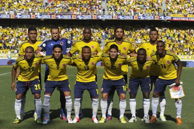 Photos Colombia in World Cup
