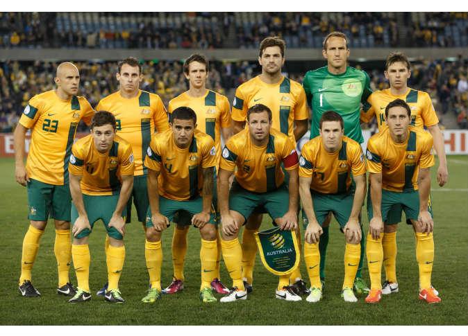 Photos Australia team at the World Cup