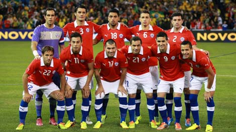 Photos Chile in World Cup