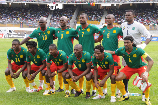 Photos Cameroon in World Cup