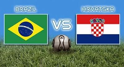 القنوات المجانية التي تذيع مباراة افتتاح كاس العالم بين البرازيل و كرواتيا اليوم 12 يونيو 2014