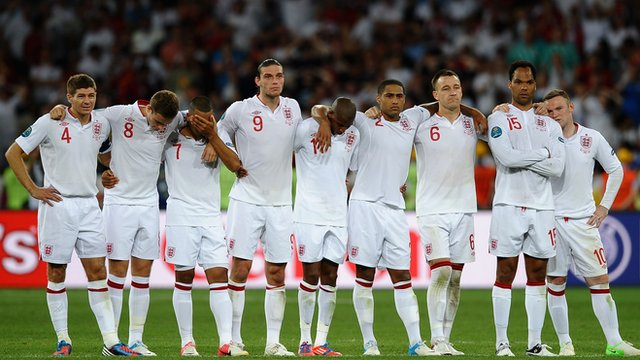 Pictures of England in World Cup 2014