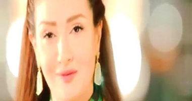غادة عبد الرازق تنشر صورتها فى مسلسل السيدة الأولى في رمضان 2014