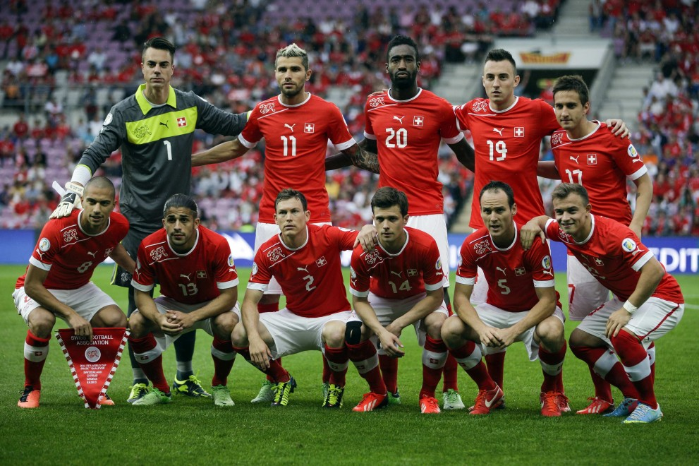 2014 Photos team Switzerland in the World Cup