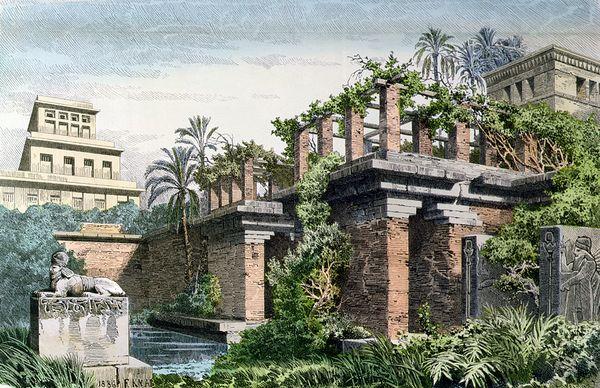 صور عجائب الدنيا السبع , الهرم الأكبر , تمثال رودس , حدائق بابل المعلقة , منارة الاسكندرية