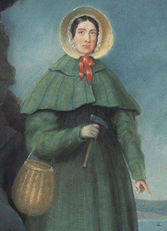 Google Mary Anning's 215th Birthday