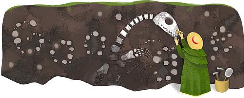 صور شعار جوجل يحتفل بذكرى ميلاد ماري آننغ عالمة المستحاثات البريطانية 12 مايو